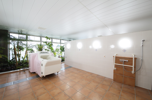 1階 機械浴室